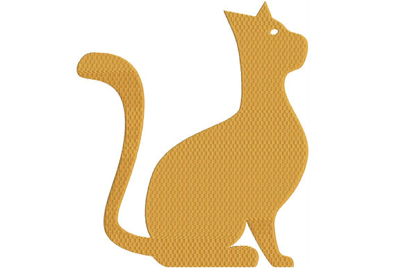 Print on Demand: Cat Cats Embroidery Design By ed.creative