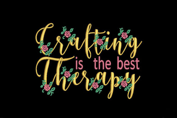 Crafter's Quote Sewing & Crafts Embroidery Design By Embroidery Shelter