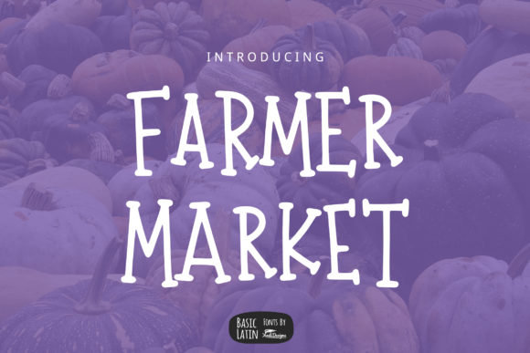 Print on Demand: Farmer Market Serif Font By YandiDesigns