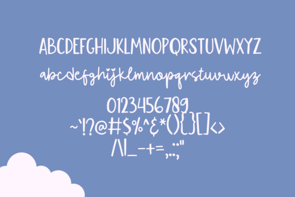 Print on Demand: Flying Kite Script & Handwritten Font By YandiDesigns - Image 2