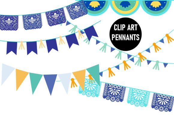 Print on Demand: Llama Clip Art Set Watercolor Blue Graphic Illustrations By A to Z Parties - Image 2