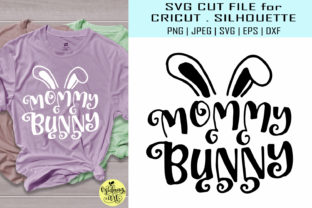 Download Free Mommy Bunny Graphic By Midmagart Creative Fabrica for Cricut Explore, Silhouette and other cutting machines.