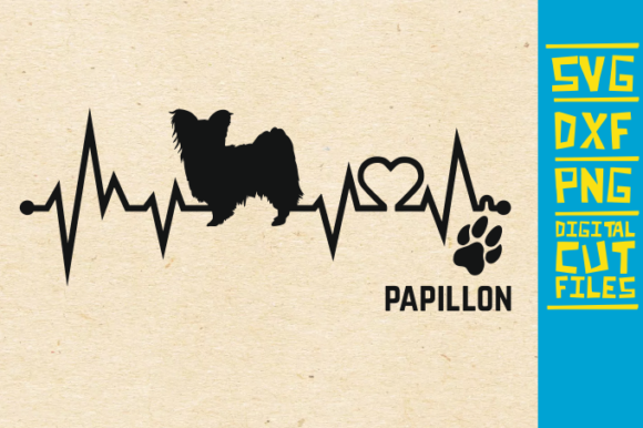 Download Free Papillon Dog Graphic By Svgyeahyouknowme Creative Fabrica for Cricut Explore, Silhouette and other cutting machines.