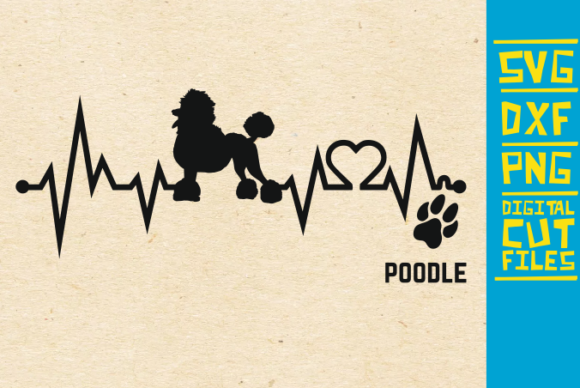 Download Free Poodle Dog Graphic By Svgyeahyouknowme Creative Fabrica for Cricut Explore, Silhouette and other cutting machines.