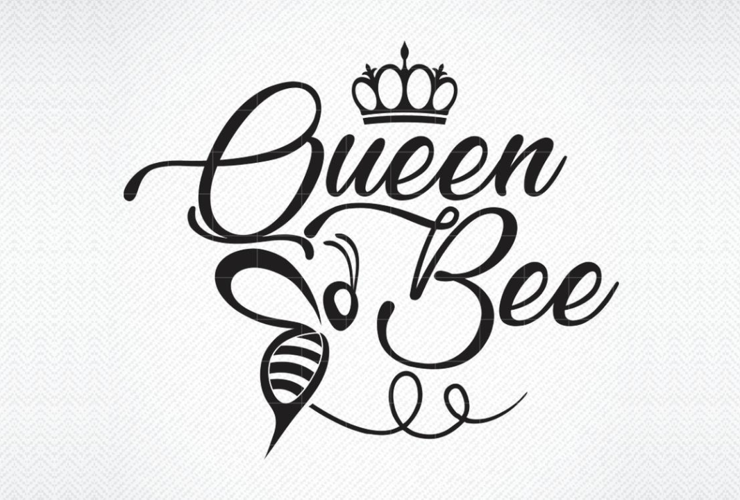 Download Free Queen Bee Graphic By Svg Den Creative Fabrica SVG Cut Files