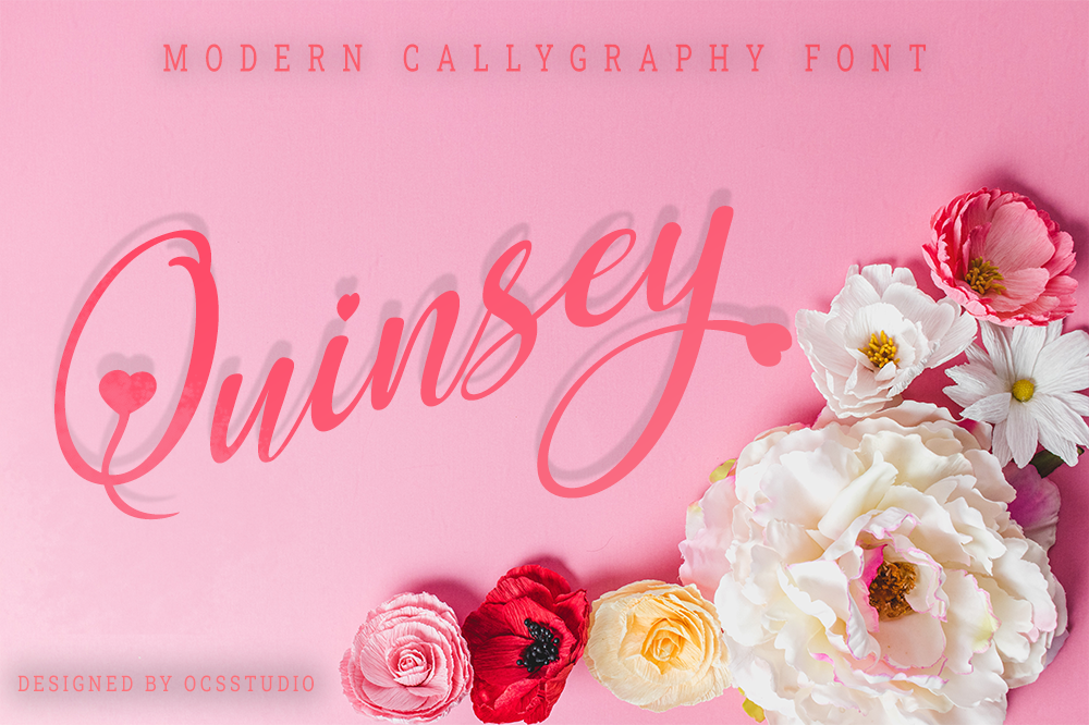 Quinsey Font By Ocs Studio Creative Fabrica