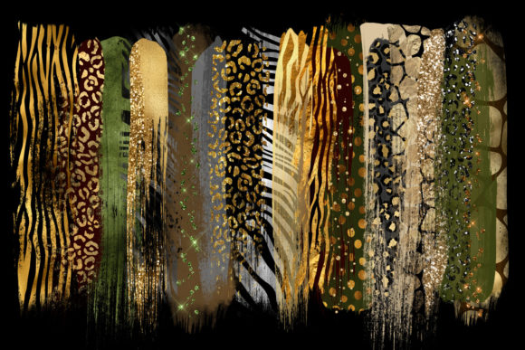 Safari Brush Strokes Clipart Graphic Illustrations By Digital Curio - Image 2