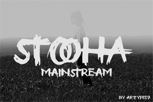 Print on Demand: Stooha Blackletter Font By artype07