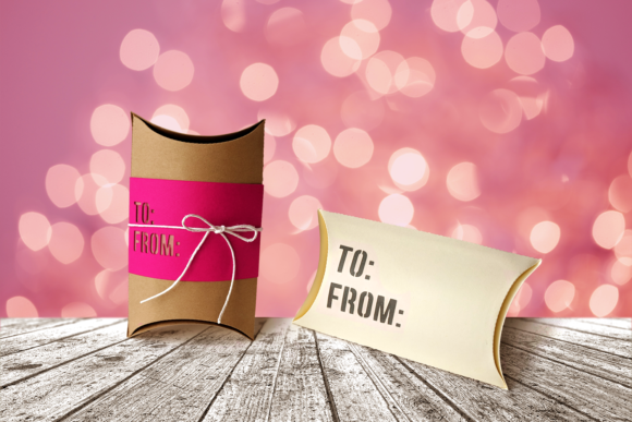 To from Pillow Box Gift Box Graphic 3D Pillow Box By RisaRocksIt