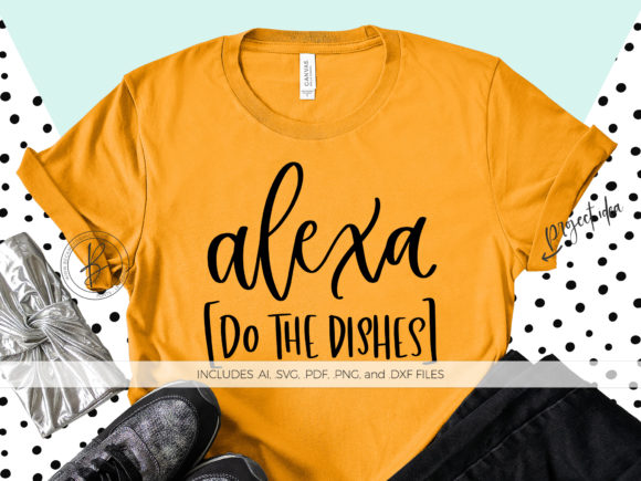 Print on Demand: Alexa Do the Dishes Graphic Crafts By BeckMcCormick