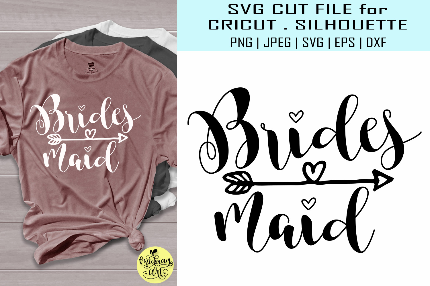 Download Free Bridesmaid Graphic By Midmagart Creative Fabrica SVG Cut Files