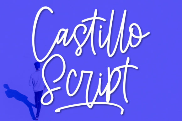 Print on Demand: Castillo Script & Handwritten Font By masinong - Image 1