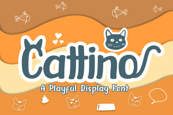 Print on Demand: Cattino Display Font By Madatype Studio - Image 1