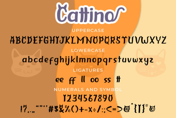Print on Demand: Cattino Display Font By Madatype Studio - Image 6