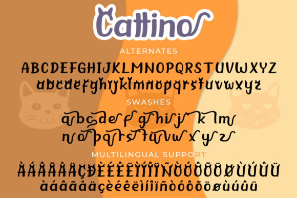 Print on Demand: Cattino Display Font By Madatype Studio - Image 7