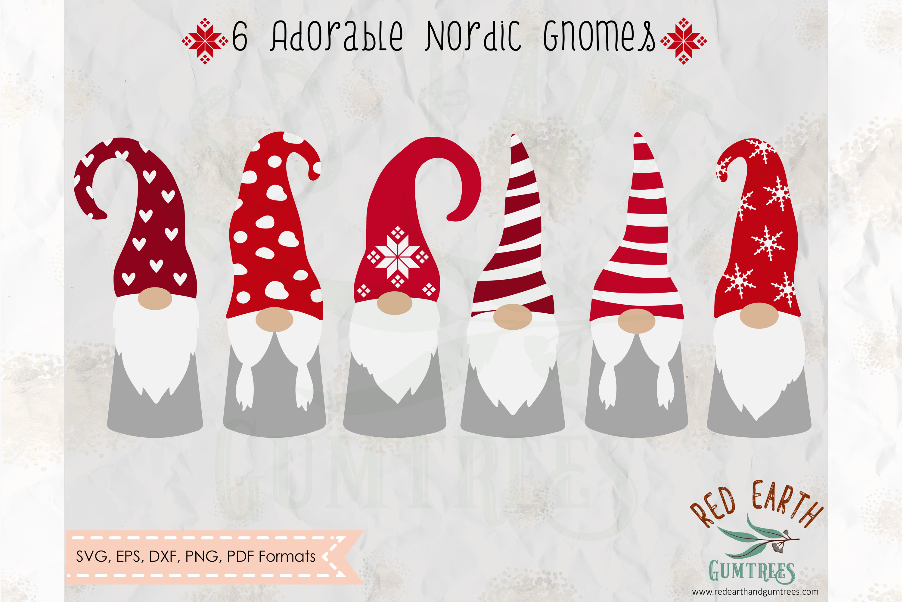 Download Free Christmas Gnome Graphic By Redearth And Gumtrees Creative Fabrica for Cricut Explore, Silhouette and other cutting machines.