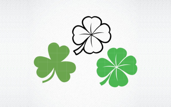 Print on Demand: Clover Shamrock Graphic Graphic Templates By SVG DEN