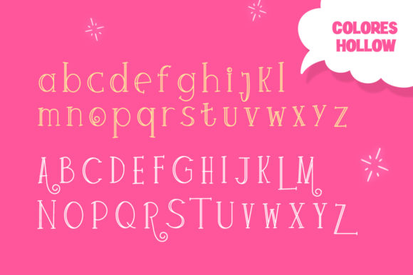 Print on Demand: Colores Display Font By Salt & Pepper Designs - Image 5
