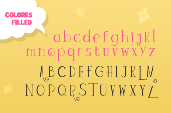 Print on Demand: Colores Display Font By Salt & Pepper Designs - Image 6