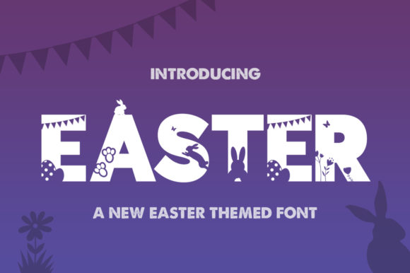 Print on Demand: Easter Display Font By Salt & Pepper Designs