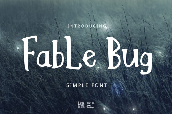 Print on Demand: Fable Bug Serif Font By YandiDesigns