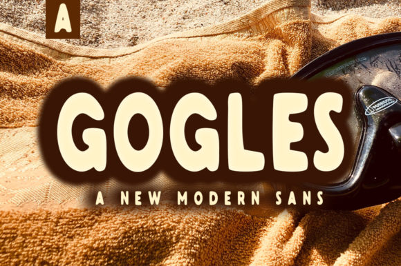 Print on Demand: Gogles Sans Serif Font By Aqeela Studio