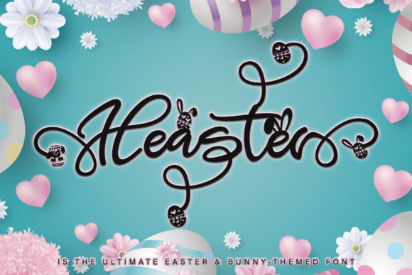 Print on Demand: Heaster Script & Handwritten Font By thomasaradea