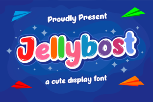 Print on Demand: Jellybost Display Font By Holydie Studio