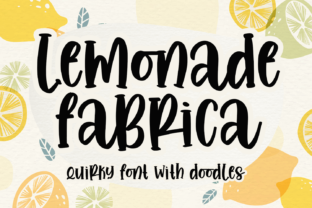 Print on Demand: Lemonade Fabrica Slab Serif Font By Abodaniel