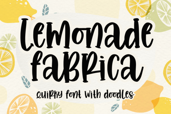 Print on Demand: Lemonade Fabrica Slab Serif Schriftarten von Abodaniel