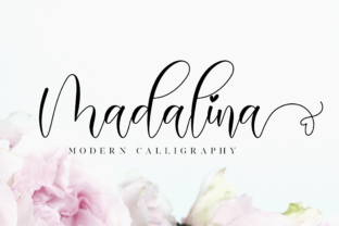 Print on Demand: Madalina Script & Handwritten Font By NissaStudio