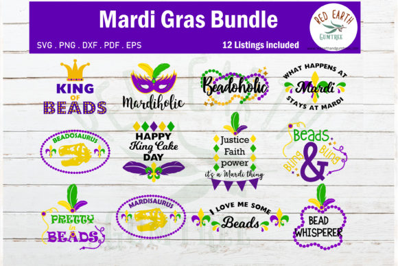 Download Free Mardi Gras Quotes Graphic By Redearth And Gumtrees Creative for Cricut Explore, Silhouette and other cutting machines.