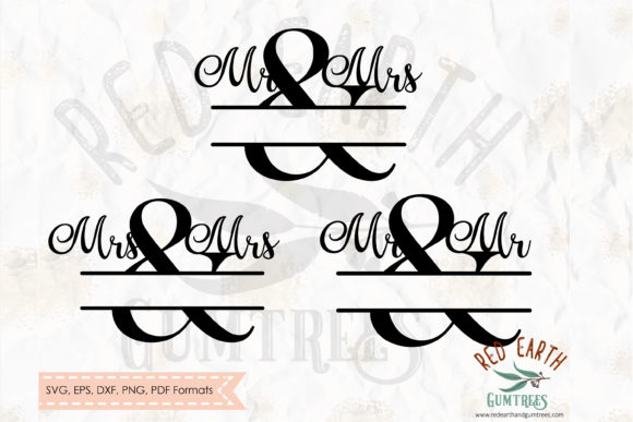 Mr & Mrs Graphic Crafts By redearth and gumtrees