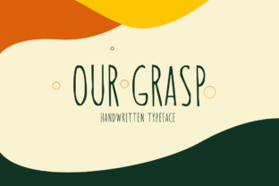 Print on Demand: Our Grasp Display Font By Instagram Fonts