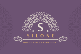 Print on Demand: Silone Display Font By Situjuh