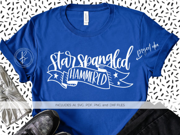 Print on Demand: Star Spangled Hammered Graphic Crafts By BeckMcCormick