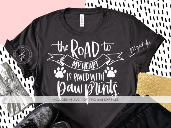 Print on Demand: The Road to My Heart ... Paw Prints Graphic Crafts By BeckMcCormick