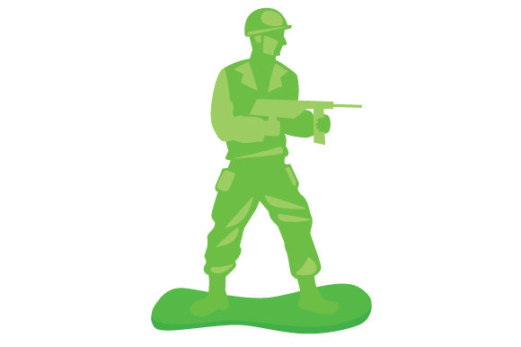 Army Man Toy Kinder Plotterdatei von Creative Fabrica Crafts