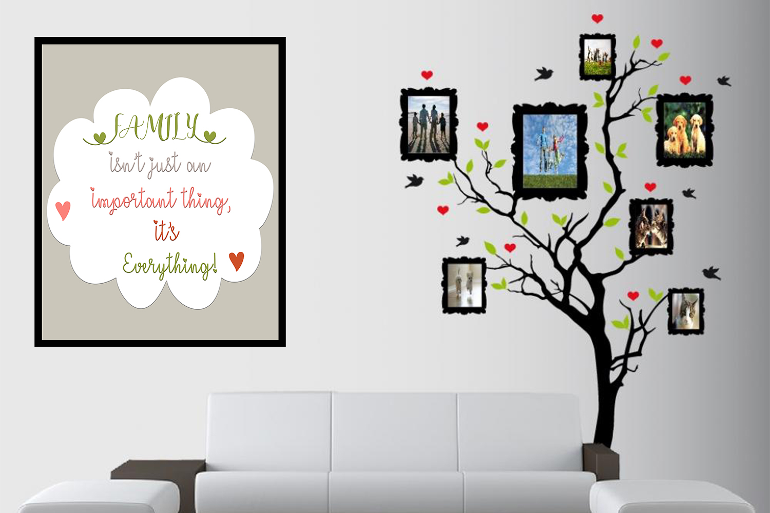 Download Free Family Mock Up Digital Wallpaper Graphic By Denysdigitalshop SVG Cut Files