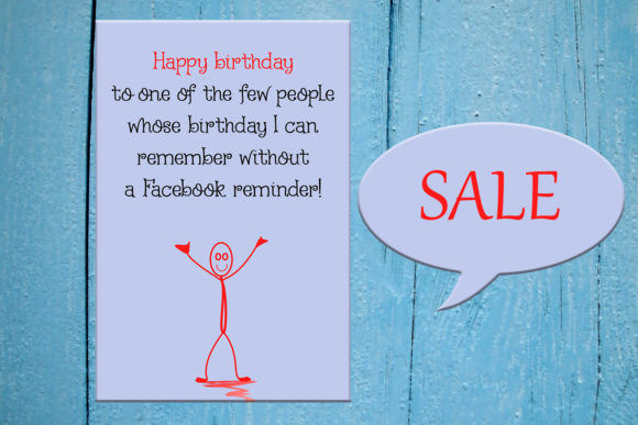 Funny Happy Birthday Card Greeting Card Graphic Crafts By denysdigitalshop