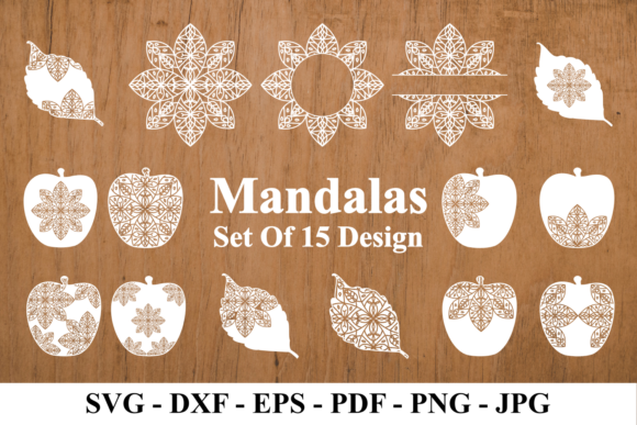 Print on Demand: Mandalas Graphic Crafts By Rvandtype