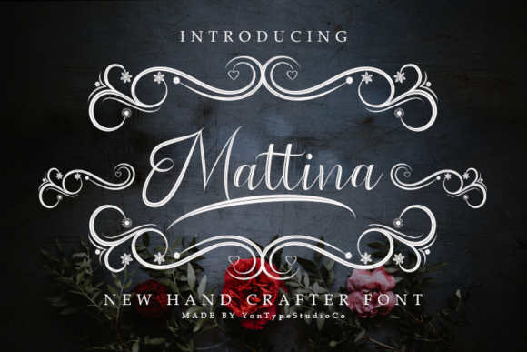 Print on Demand: Mattina Decorative Font By YonTypeStudio.Co