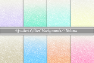 Ombre Glitter Backgrounds Graphic Backgrounds By AM Digital Designs