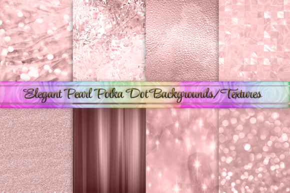 Download Free Rose Gold Pink Background Textures Set 1 Graphic By Am Digital for Cricut Explore, Silhouette and other cutting machines.