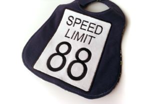 Speed Limit 88 Sign Applique Cities & Villages Embroidery Design By DesignedByGeeks