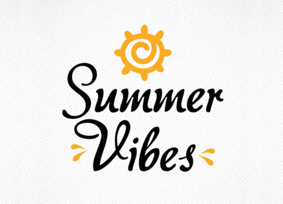 Download Free Summer Vibes Graphic By Svg Den Creative Fabrica for Cricut Explore, Silhouette and other cutting machines.