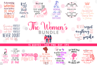 The Women's Bundle Graphic Crafts By Graphipedia
