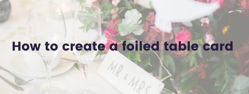 Download Free How To Create A Foiled Table Card Creative Fabrica for Cricut Explore, Silhouette and other cutting machines.