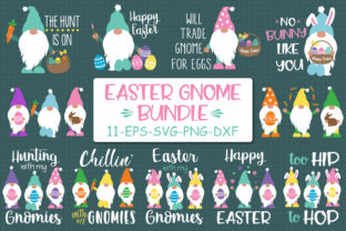 Easter Gnomes Bundle Graphic Crafts By All About Svg