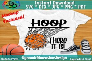 Print on Demand: Hoop There It is Graphic Crafts By dynamicdimensions
